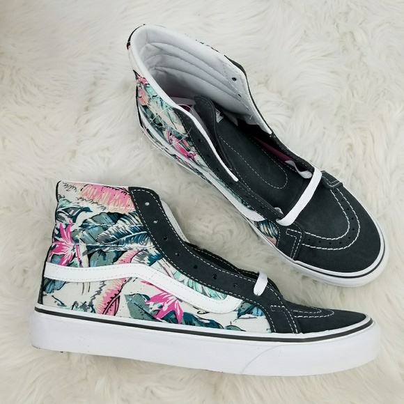 de93b19cce Vans Sk8-Hi Slim Tropical Shoes W 9 NIB